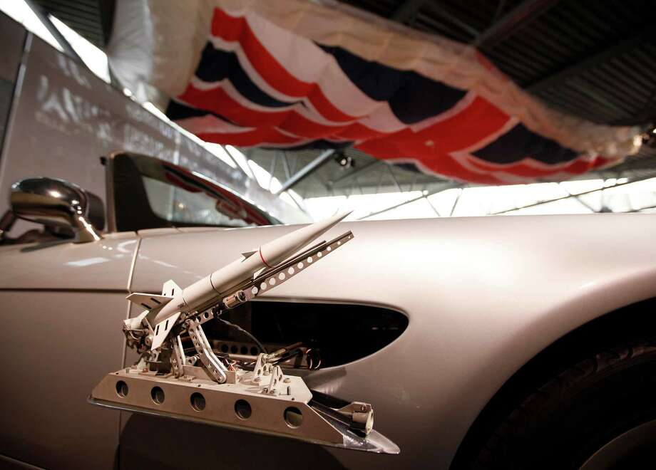"The BMW Z8 used in ""The World is Not Enough"" featured side pod rockets. Photo: Alastair Grant, ASSOCIATED PRESS / AP2012"