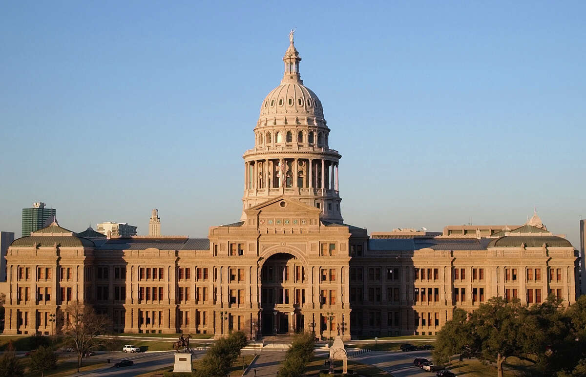 The Texas Capitol is shown on Wednesday, Jan. 8, 2003, in Austin.