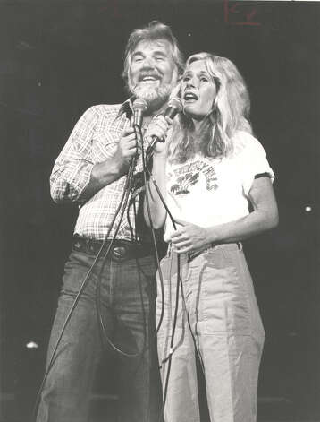 Kenny Rogers and Kim Carnes.