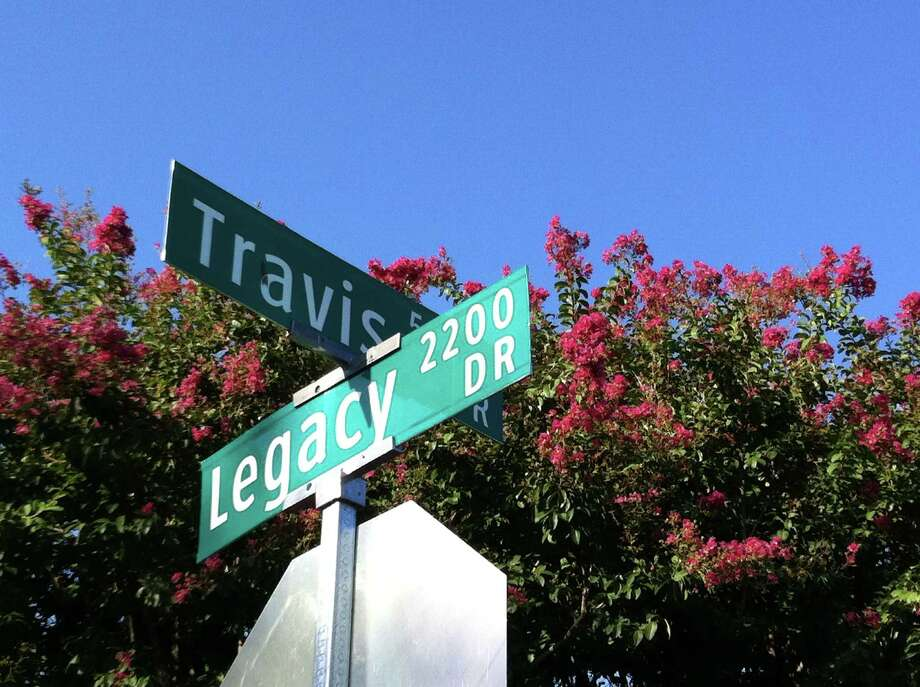The intersection of Travis and Legacy Streets between Plano and Frisco, Texas Photo: Andrew Dansby