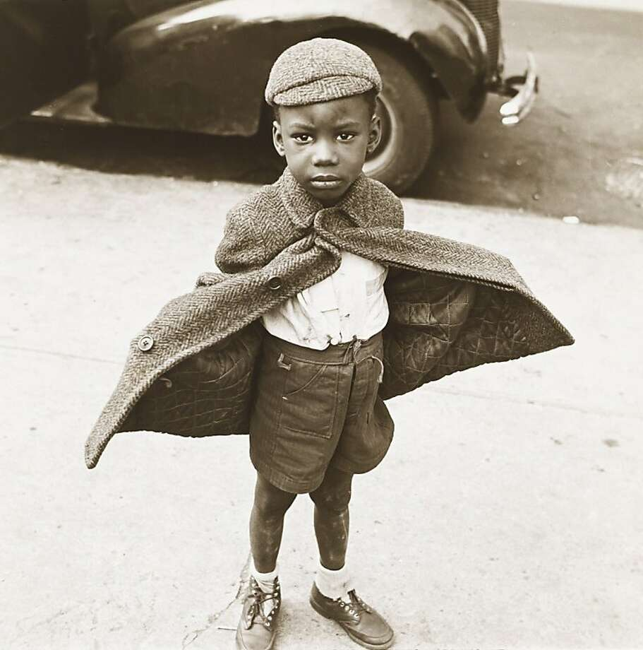 "Jerome Liebling's ""Butterfly Boy, New York, 1949"" is part of a Contemporary Jewish Museum show. Photo: Jerome Liebling"