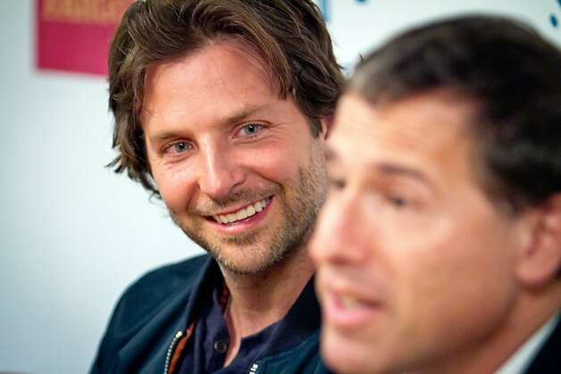 Bradley Cooper and director David O. Russell at a press conference before the opening of the Mill Valley Film Festival in Mill Valley, Calif., is seen on Thursday, Oct. 4th, 2012. Photo: John Storey, Special To The Chronicle