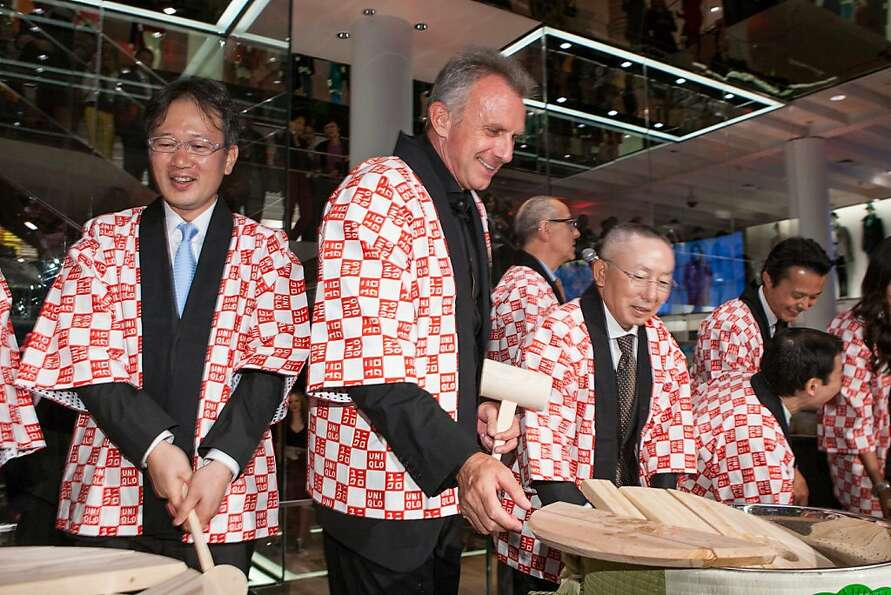 Global fashion retailer Uniqlo threw a splashy opening party Oct. 4 to celebrate its first West Coas