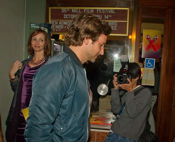 Bradley Cooper walks into the opening of the Mill Valley Film Festival in Mill Valley, Calif., is seen on Thursday, Oct. 4th, 2012. Photo: John Storey, Special To The Chronicle