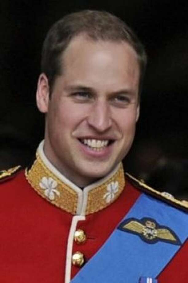 No. 3:William (Prince William)Origin:GermanMeaning:Resolute guardian (Martin Meissner / AP)
