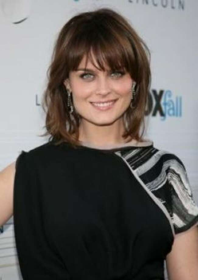 No. 6:Emily (Emily Deschanel)Origin:TeutonicMeaning:Industrious (Getty)
