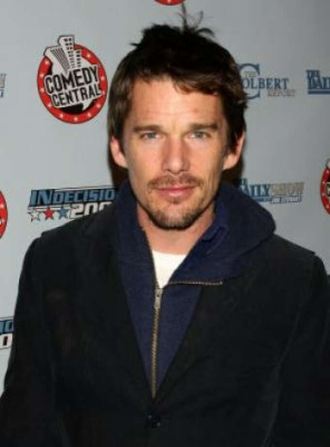 No. 7: Ethan (Ethan Hawke)Origin: HebrewMeaning: Firm, steadfast (Getty)