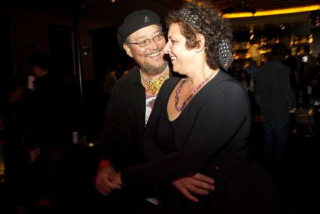 Daniel Patrick dances with Zenovia Limberakis at the official after party for the Mill Valley Film Festival opening night at Sweetwater Music Hall in Mill Valley, Calf., on Thursday, October 4, 2012. Photo: Laura Morton, Special To The Chronicle