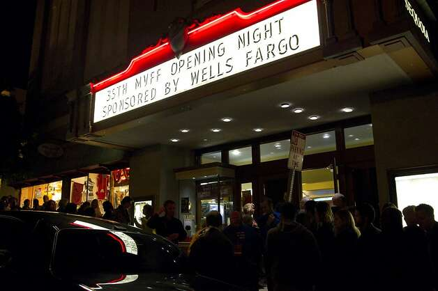 "The CineArts @ Sequoia theater was the venue for David O. Russell's film ""Silver Linings Playbook"" on opening night of the Mill Valley Film Festival in Mill Valley, Calf., on Thursday, October 4, 2012. Photo: Laura Morton, Special To The Chronicle"