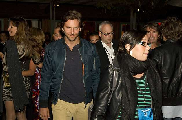 "Actor Bradley Cooper attends opening night of the Mill Valley Film Festival in Mill Valley, Calf., on Thursday, October 4, 2012.  Bradley starred in the film ""Silver Linings Playbook,"" which was one of the films being shown on opening night. Photo: Laura Morton, Special To The Chronicle"