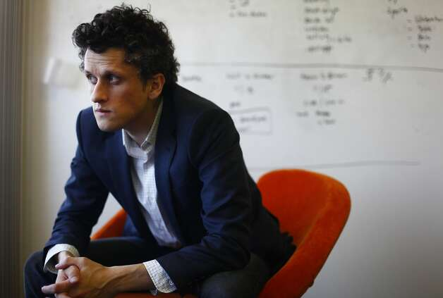 Aaron Levie, CEO of Box, finds his 7-year-old company among the leaders in cloud storage and growing quickly. Photo: Lea Suzuki, The Chronicle