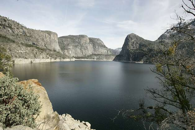 The Hetch Hetchy Reservoir has been a critical Bay Area water supply for nearly a century. Photo: Kurt Rogers, The Chronicle
