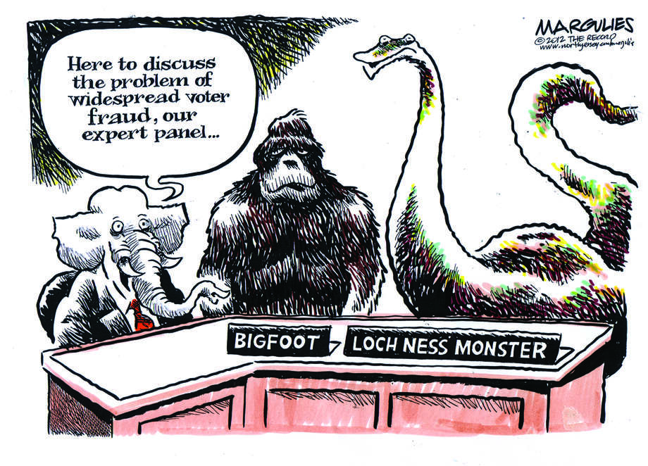 Today's Editorial cartoon is by Jim Margulies from The New Jersey Record.