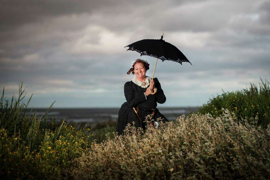"""Historian Helen Mooty will portray Jane Long at a festival honoring the """"Mother of Texas"""" on Bolivar Peninsula. Mooty, who is the director of the Galveston County Museum, has spent years researching her favorite subject. Photo: Michael Paulsen / © 2012 Houston Chronicle"""