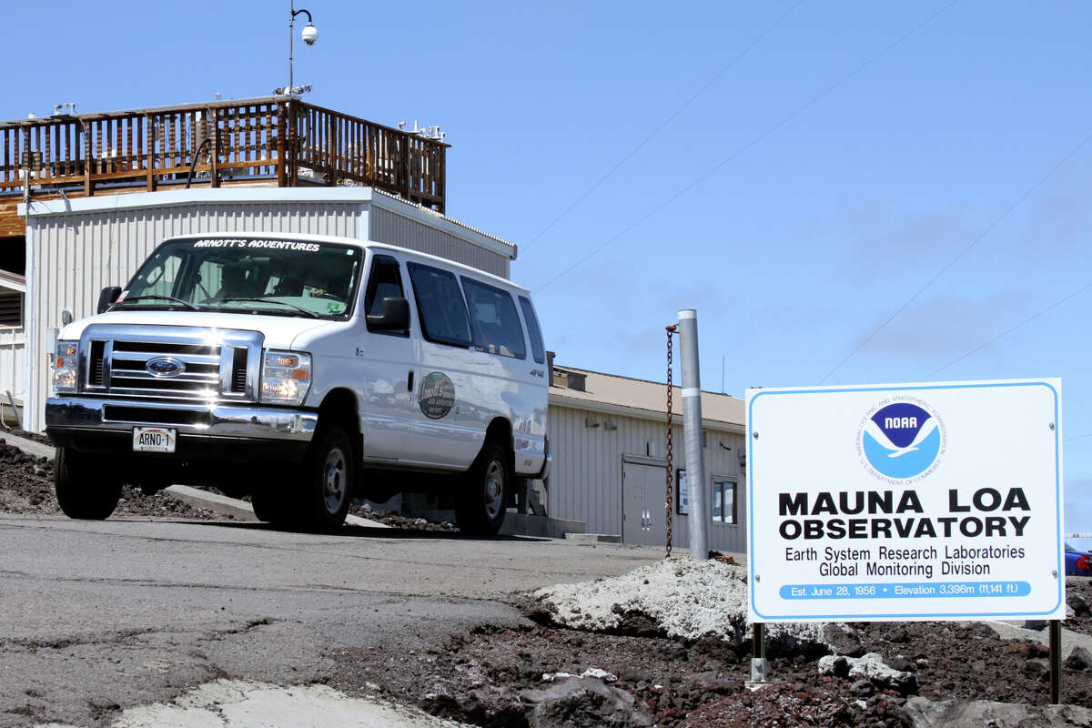 A Joint POW/MIA Accounting Command team departs Hawaii's Mauna Loa Observatory after a training mission on the world's largest mountain.