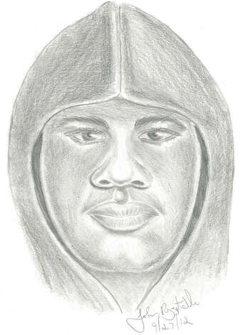 This is the police sketch of the suspect being sought in connection with a burglary and assault in New Fairfield. Photo: Contributed Photo