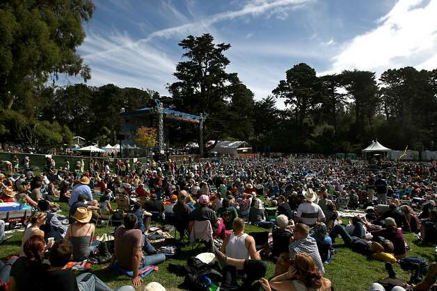 The Hardly Strictly Bluegrass Festival returns to Golden Gate Park with another stellar lineup of talent that includes Patti Smith, Elvis Costello, Conor Oberst, Jenny Lewis, Steve Earle, Emmylou Harris, the Civil Wars, Dwight Yoakam and many, many others. It's the first festival since the passing of founder Warren Hellman, the billionaire investment banker and amateur banjo player who funded the festival as a gift to the city of San Francisco. Photo: Luanne Dietz, The Chronicle