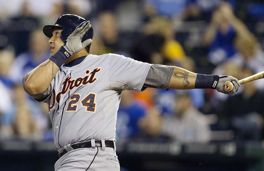Miguel Cabrera has gained the respect of the baseball world - including opposing fans - and celebrities after his Triple Crown achievement. Photo: Orlin Wagner, Associated Press