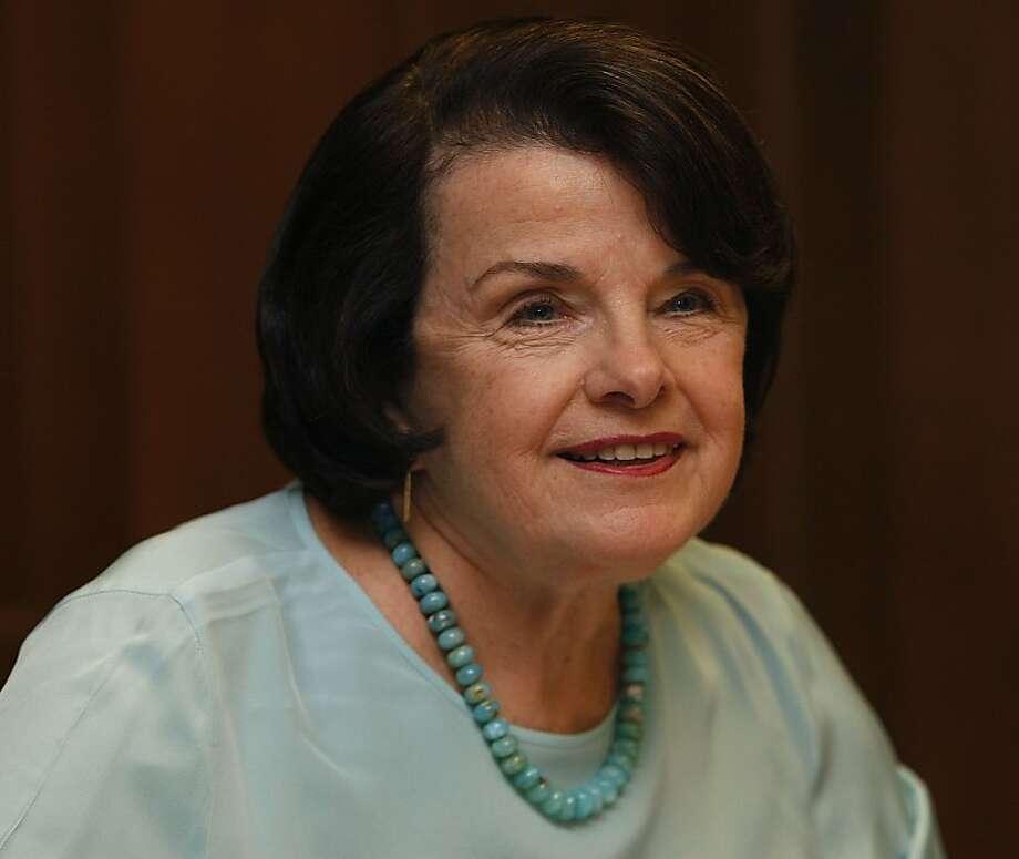 $42 million Sen. Dianne Feinstein Photo: Liz Hafalia, The Chronicle