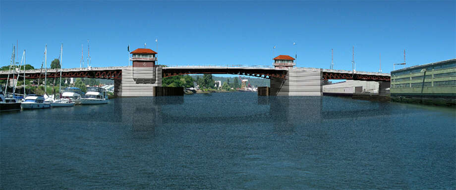 Artist's rendering of what the new South Park Bridge will look like. Photo: Courtesy Of King County