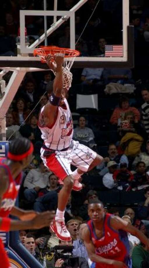 Steve Francis: The second overall pick in the 1999 draft (by Vancouver), Stevie Franchise wasn't. (KAREN WARREN / HOUSTON CHRONICLE)