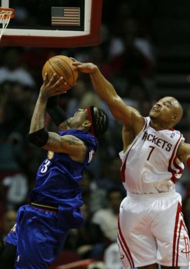 David Wesley:  A stop-gap replacement for one season. (Nick de la Torre / HOUSTON CHRONICLE)