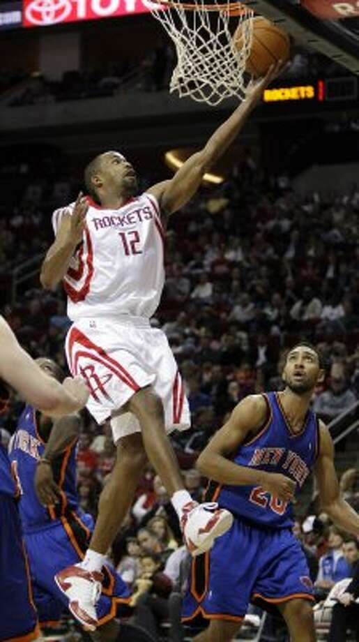 Rafer Alston: His era lasted just over 3 seasons and a 5-8 playoff record. (Brett Coomer / Houston Chronicle)