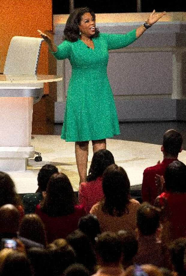 """""""How y'all doing?"""" Oprah Winfrey asked a packed house at the Hobby Center"""