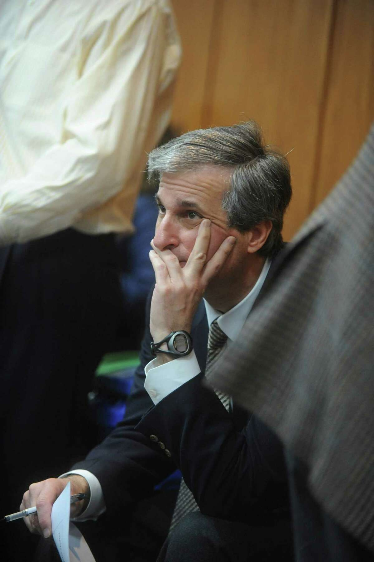 Joseph Pellegrino, the chairman of the Board of Estimate and Taxation Budget Committee, shown here in 2011.