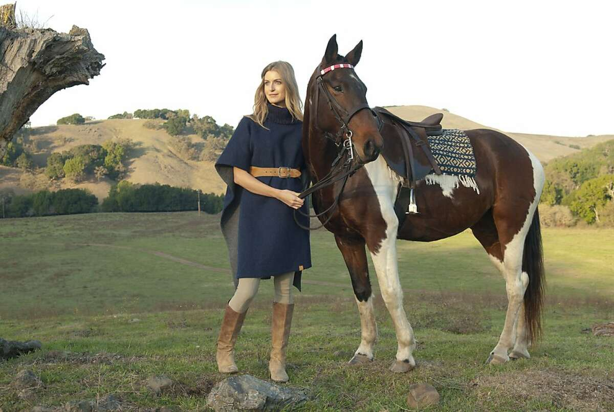 Another look from Elizabeth Goodwin Welborn's Stick & Ball clothing line, modeled by Hilary Shaw and Buford.