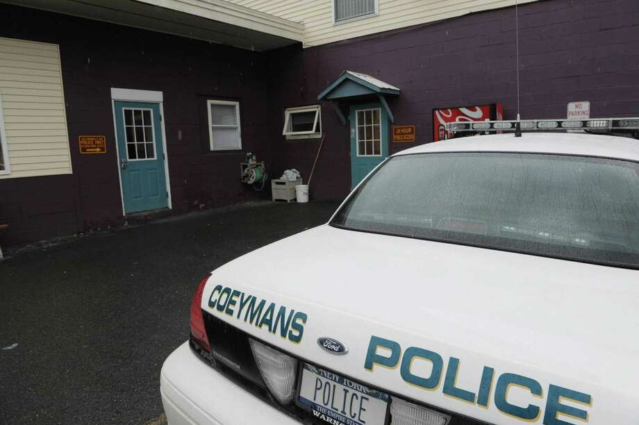 A view of a Coeymans Police car at the police station on Thursday afternoon, Oct. 4, 2012 in Coeymans, NY.    (Paul Buckowski / Times Union) Photo: Paul Buckowski