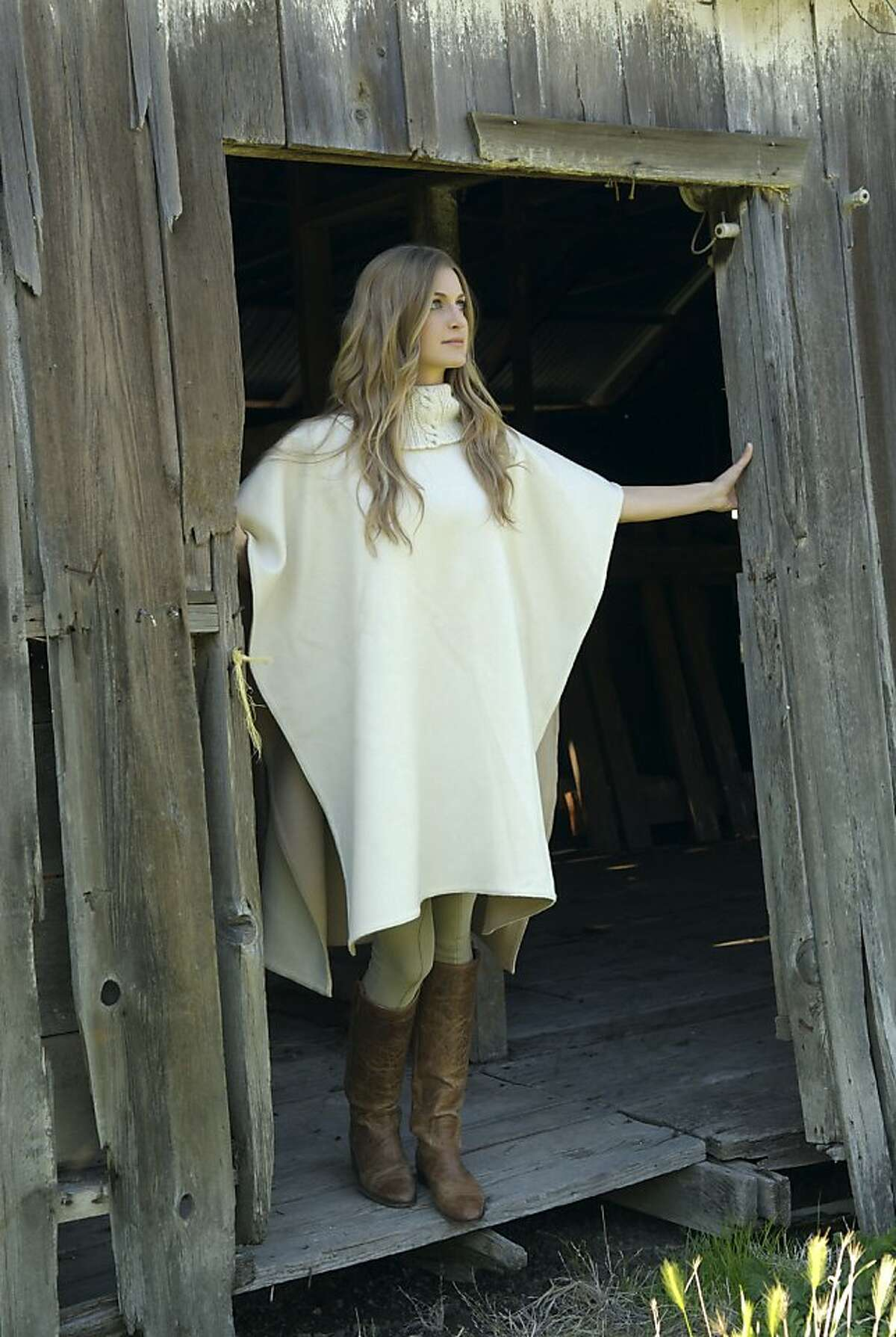 Mill Valley resident Elizabeth Goodwin Welborn has introduced a line of ponchos, throws and purses marketed under the brand name Stick & Ball. Welborn fell in the love with the casual side of the sport while working in Argentina in the late 1990s.