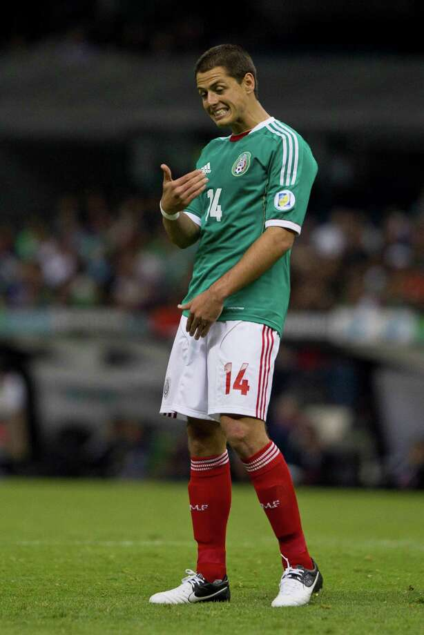 Javier Hernandez will lead Mexico against Guyana in a World Cup qualifying match Friday at BBVA Compass Stadium. Photo: Christan Palma / AP