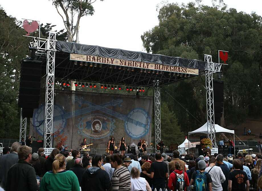Jenny Lewis and her band perform Friday afternoon, October 5, 2012 at Hardly Strictly Bluegrass in Golden Gate Park. Today marked the first day of the three day festival. Photo: Luanne Dietz, The Chronicle