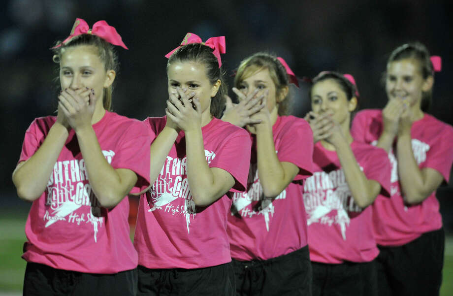 Scenes from the Brookfield at Newtown football game on Friday, Oct. 5, 2012. Photo: Jason Rearick / The News-Times