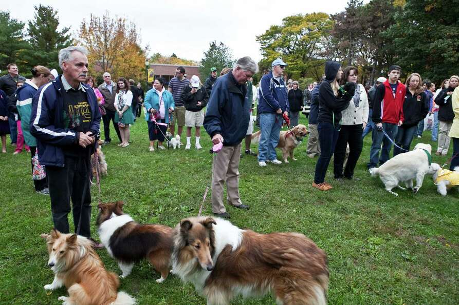 Were you Seen at the annual Blessing of the Animals in celebration of St. Francis Week at Siena Coll