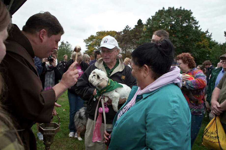 Were you Seen at the annual Blessing of the Animals in celebration of St. Francis Week at Siena College on Saturday, Oct. 6, 2012? Photo: Purificato Photos, PurificatoPhotos / copyright 2012