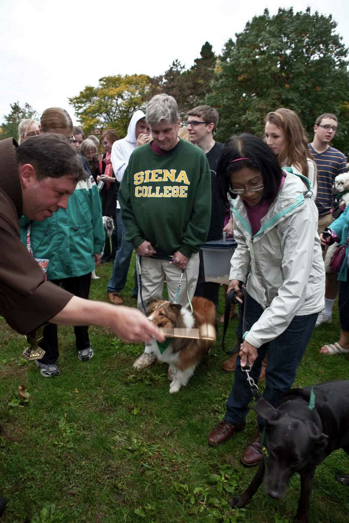 Were you Seen at the annual Blessing of the Animals in celebration of St. Francis Week at Siena College on Saturday, Oct. 6, 2012?