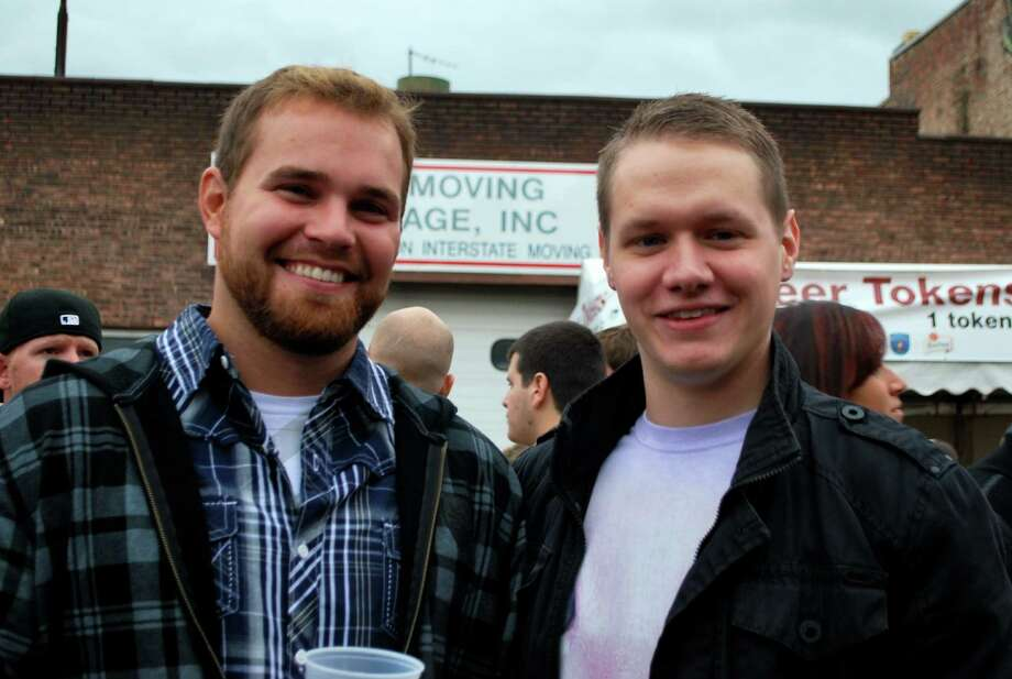 Were you Seen celebrating Oktoberfest at Wolff's Biergarten in Albany on Saturday, Oct. 6, 2012? Photo: Silvia Meder Lilly
