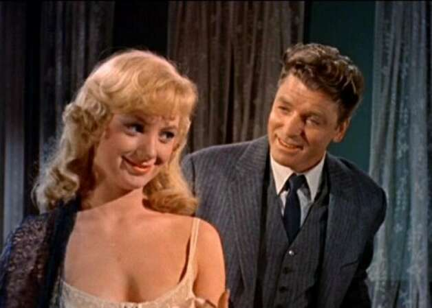 """Elmer Gantry."" There's a guy standing behind Shirley Jones, I think.  (bauhaus) (United Artists 1960 / ONLINE_YES)"