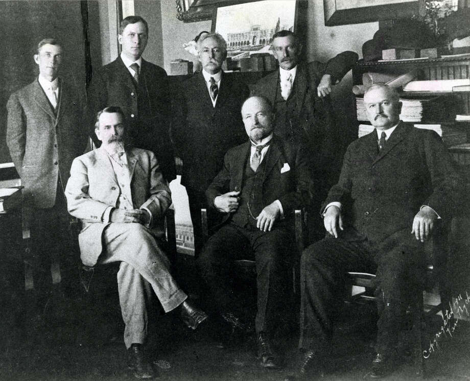 First board of trustees at Rice Institute. Photo: Houston Chronicle File Photo