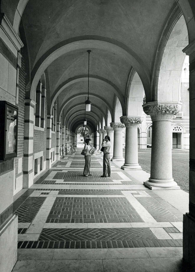 Rice University photographed in May of 1979. Photo: Houston Chronicle File Photo