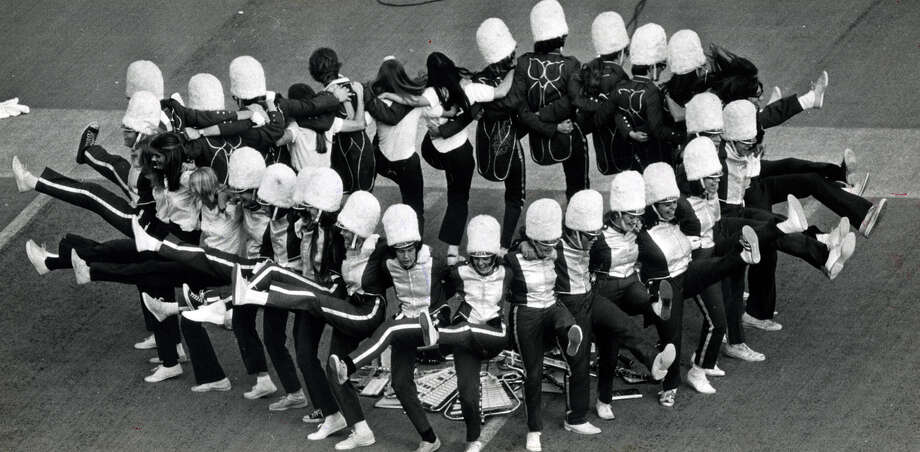 Rice University Band in November of 1975. Photo: Houston Chronicle File Photo