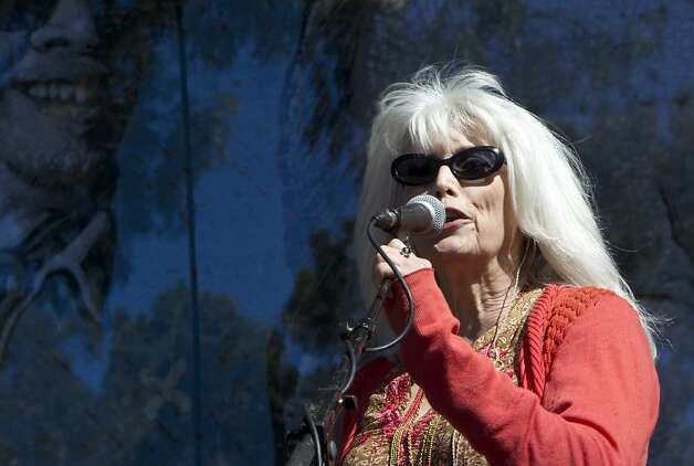 Emmylou Harris, above, pops in to sing with Buddy Miller during the free concert. The festival favorite is scheduled to perform at 5:45 p.m. Sunday. Photo: Laura Morton, Special To The Chronicle