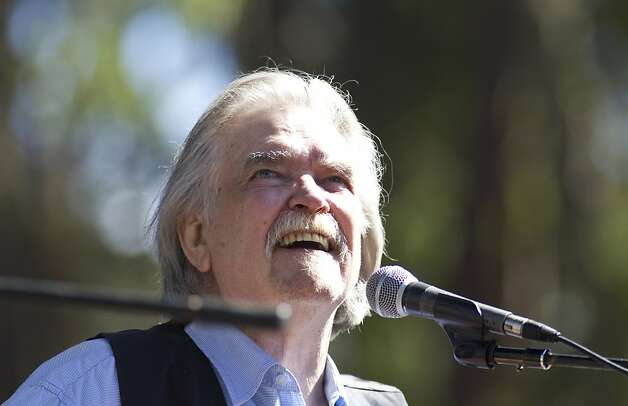 Guy Clark performs on the Rooster Stage during Hardly Strictly Bluegrass in Golden Gate Park in San Francisco, Calf., on Saturday, October 6, 2012. Photo: Laura Morton, Special To The Chronicle