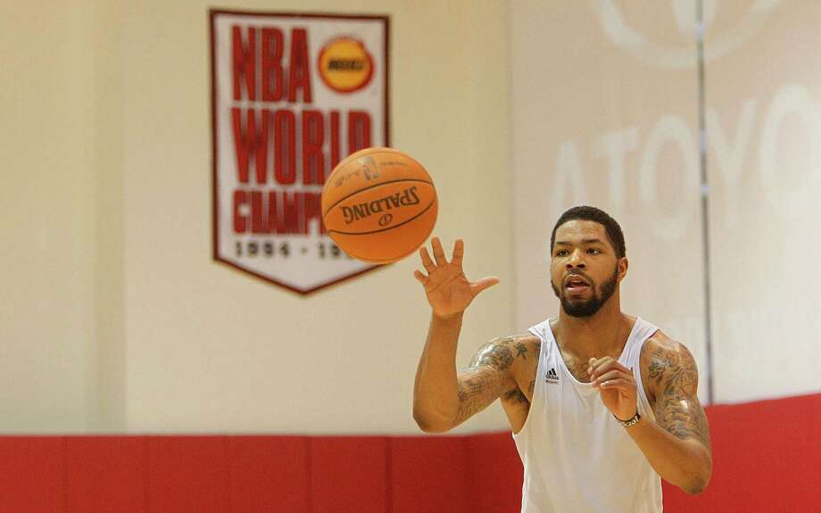Forward Marcus Morris has gained confidence since his rookie season and seeks more minutes. Photo: Mayra Beltran / Houston Chronicle