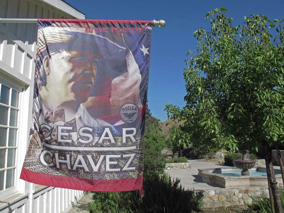 The 187-acre site in Keene, Calif., was home to many families in the 1970s and '80s when Cesar Chavez used the location to lead his farmworkers movement. Photo: Gosia Wozniacka / AP