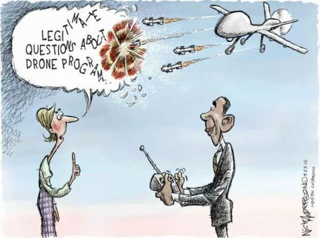 Obama's drone program  (Nick Anderson / Houston Chronicle)