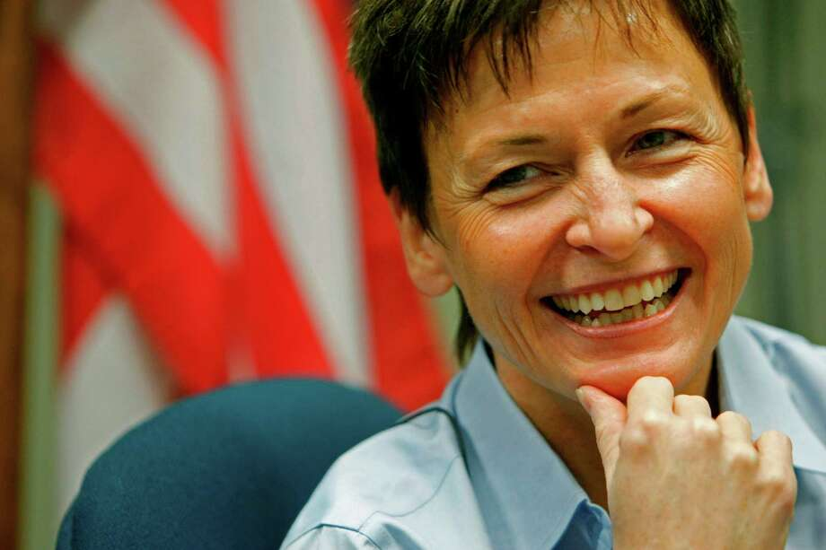 Astronaut Peggy Whitson was an International Space Station commander. Photo: Johnny Hanson / Chronicle