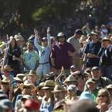 Fans pack Hellman Hollow in Golden Gate Park to watch a tribute to Warren Hellman, Earl Scruggs and Doc Watson on the Banjo Stage at Hardly Strictly Bluegrass in Golden Gate Park in San Francisco, Calf., on Saturday, October 6, 2012.